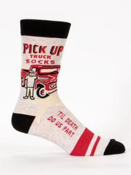 Pickup Truck Men's Sock