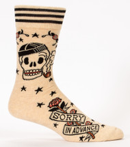 Sorry in Advance Men's Sock