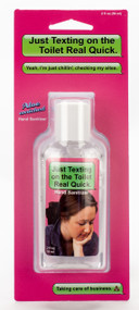 Texting on the Toilet  Hand Sanitizer