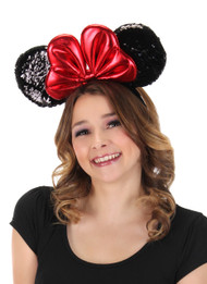 Disney Consumer Products Minnie Sequin Ears Headband