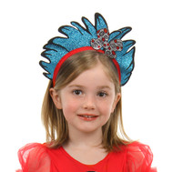 Dr. Seuss Thing 1&2 Glitter Headband