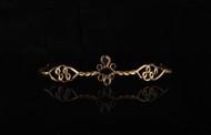 elope Antique Gold/Black Circlet Adjustable