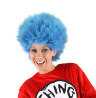 Dr. Seuss Thing 1&2 Plush Wig