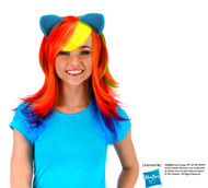 Hasbro Rainbow Dash Wig with Ears
