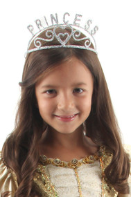 elope Silver Princess Sparkle Tiara