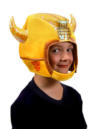 Hasbro Kids Bumblebee Plush Helmet