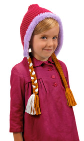 Disney Consumer Products Anna Knit Hoodie Hat