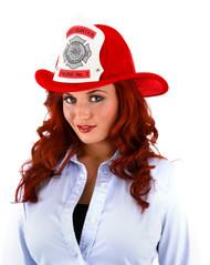 elope Fire Chief Plush Helmet