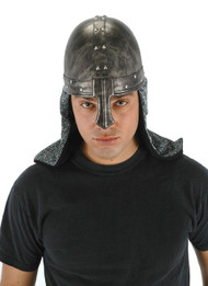 elope Black Knight Plush Helmet