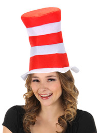 Dr. Seuss The Cat in the Hat Kids Felt Stovepipe