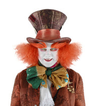 Disney Consumer Products Mad Hatter Plush Hat with Hair