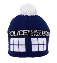 BBC TARDIS Knit Pom Beanie