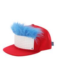 4b066c5aba669 Dr. Seuss Thing 1 2 Bricky Blocks Build-On Snapback Hat Kit