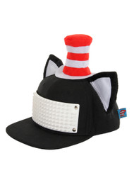 Dr. Seuss The Cat in the Hat Bricky Blocks Build-On Snapback Hat Kit