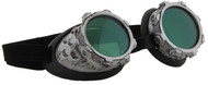 elope CyberSteam Goggles Silver/Green