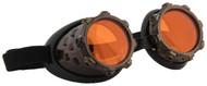 elope CyberSteam Goggles Gold/Orange