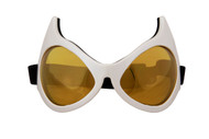 elope Cat Eye Goggles White/Gold