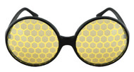 elope Bug Eyes Glasses Black/Yellow