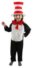 Dr. Seuss The Cat in the Hat Deluxe Costume Kids Small