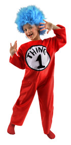 Dr. Seuss Thing 1&2 Deluxe Costume Kids Small