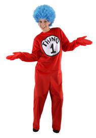 Dr. Seuss Thing 1&2 Costume Deluxe Mens