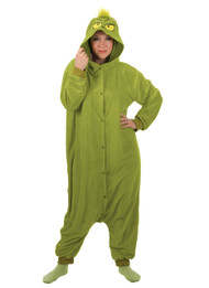 Dr. Seuss The Grinch Kigurumi Womens One Size
