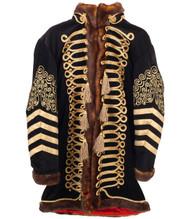 Rockin' Artwork Jimi Hendrix Deluxe Jacket Mens