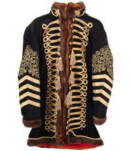 Rockin' Artwork Jimi Hendrix Deluxe Jacket Mens