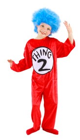 Dr. Seuss Thing 1&2 Costume Kids XS 2T-4T