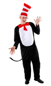 Dr. Seuss The Cat in the Hat Costume Mens S/M