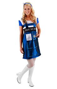 BBC TARDIS Costume Dress Womens