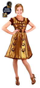 BBC Dalek Costume Dress Womens