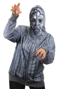 BBC Weeping Angel Full Zip-Up Hoodie Mens S