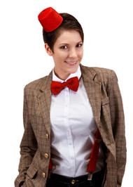 BBC Mini Fez Headband & Bow Tie Kit