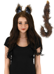 elope Cat Ears & Tail Kit Fox