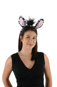 elope Zebra Ears Headband & Tail Kit
