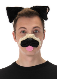 elope Pug Ears Headband Nose & Tail Kit