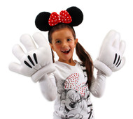 Disney Consumer Products Minnie Ears Red Bow Headband & Gloves Kit