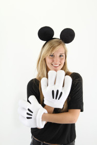 Disney Consumer Products Mickey Ears Headband & Gloves Kit