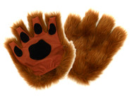 elope Brown Fingerless Paws