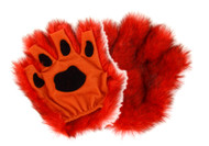 elope Orange Fingerless Paws