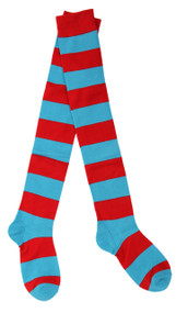 Dr. Seuss Thing 1&2 Striped Socks