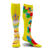 elope Mismatched Celebration Knee-High Socks