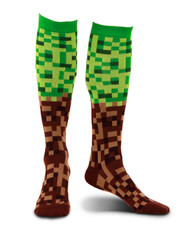 elope Pixel Brick Knee-High Socks