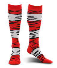Dr. Seuss The Cat in the Hat Costume Socks Adult