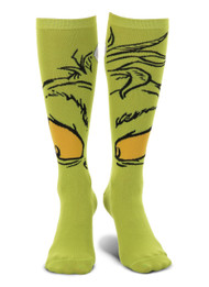 Dr. Seuss The Grinch Knee High Costume Socks