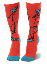 Dr. Seuss Fox in Socks Knee High Costume Socks