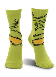 Dr. Seuss The Grinch Costume Crew Socks