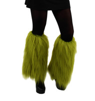 Dr. Seuss The Grinch Fuzzy Leg Warmers