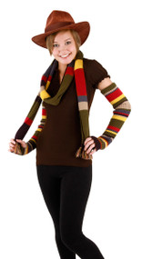 BBC Fourth Doctor Knit Arm Warmers